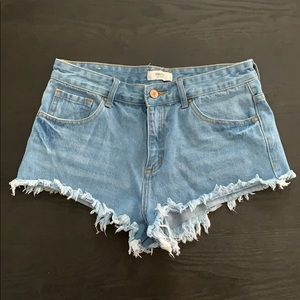 Forever 21 Jean booty shorts